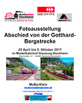 Modellausstellung Abschied von der Gotthard-Bergstrecke