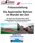 Fotoausstellung Appenzeller Bahnen